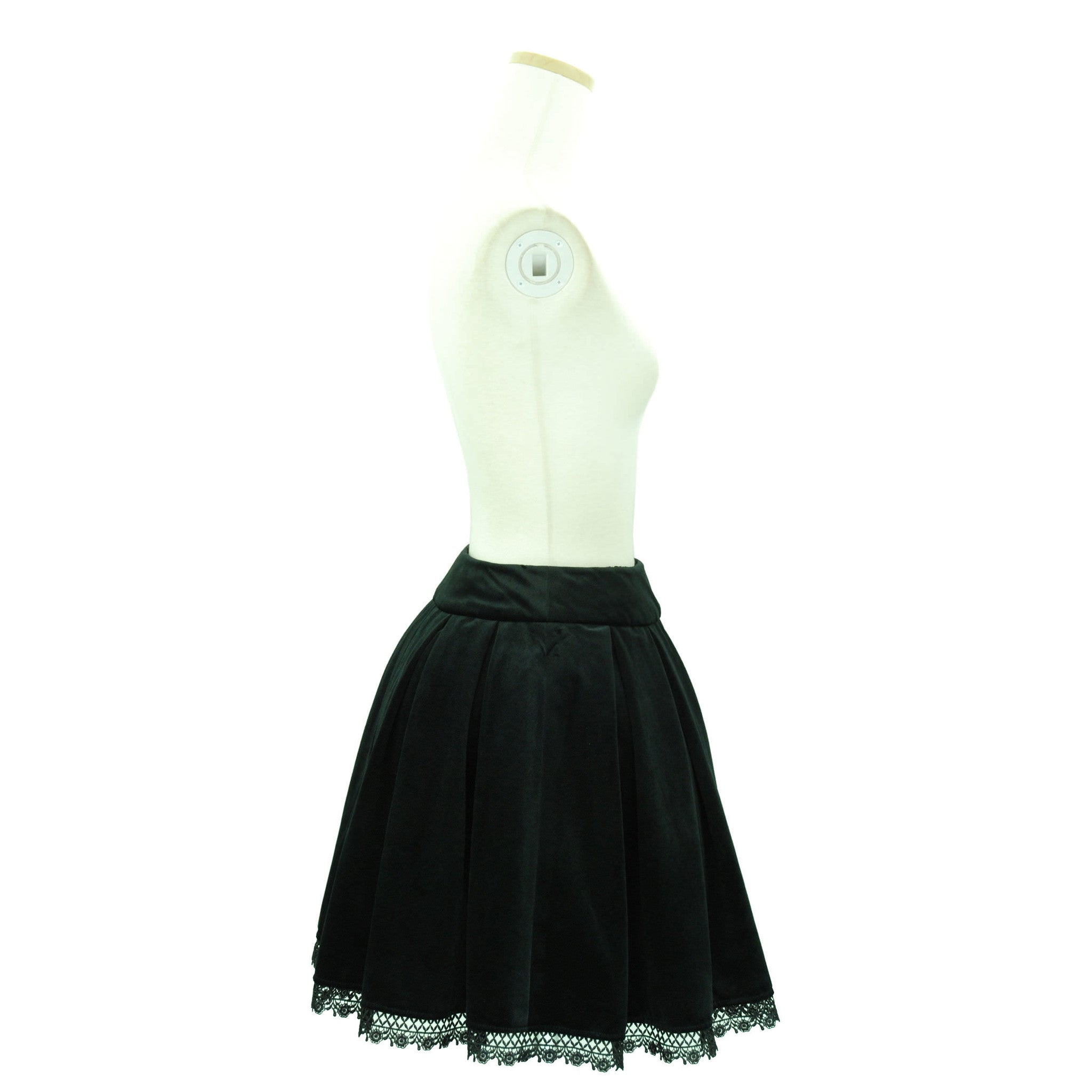 "Sheglit ""Agnes"" Box Tack Skirt black"