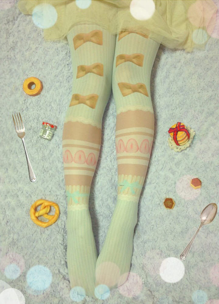 "Traumerei ""Strawberry Mousse tights"""