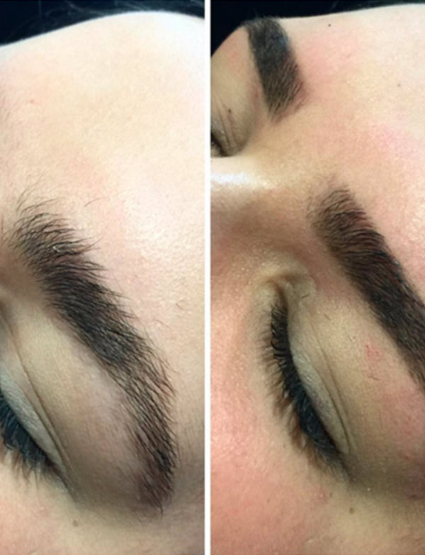 Eyebrow Makeover vs Feather Touch Tattooing