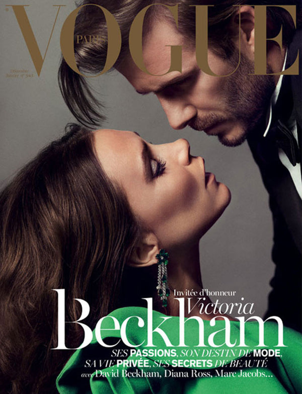 The Beckhams cover VOGUE Paris