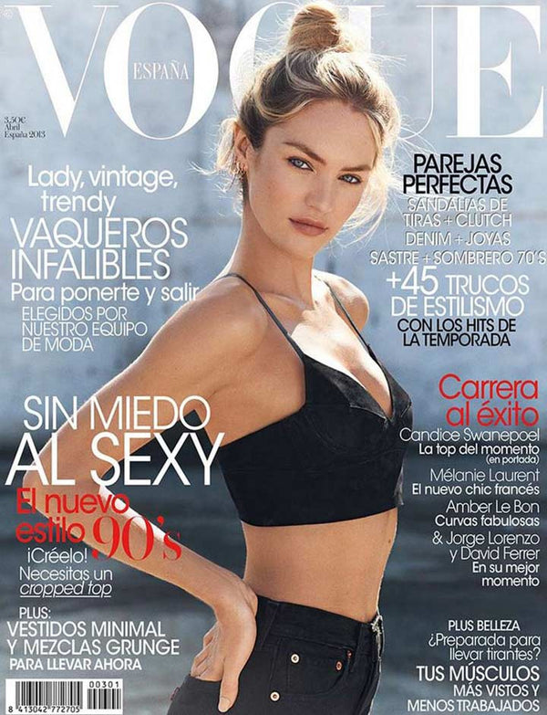 Candice Swanepoel for Vogue Spain