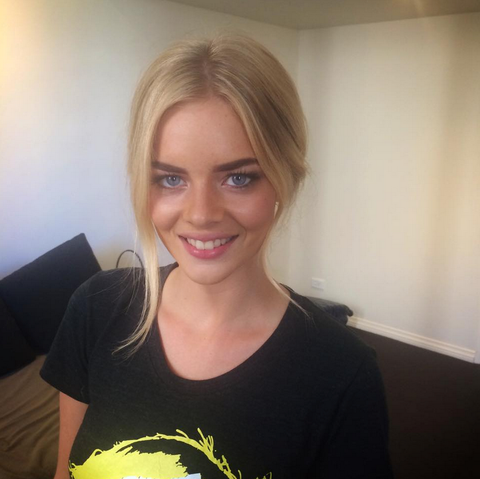 Behind the scenes pretty in pink with samara weaving alison jade have a look at some of these behind the scenes snaps pmusecretfo Gallery