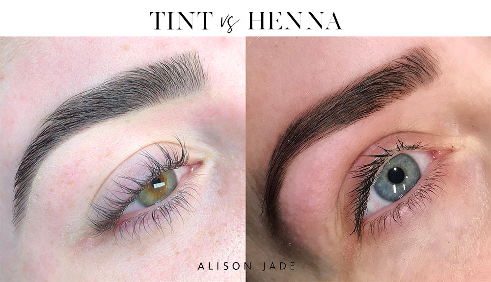Eyebrow Tint vs Eyebrow Henna | Alison Jade Eyebrow Specialist Perth and Melbourne
