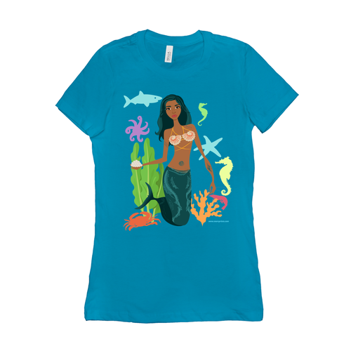 Black Mermaid T-Shirt