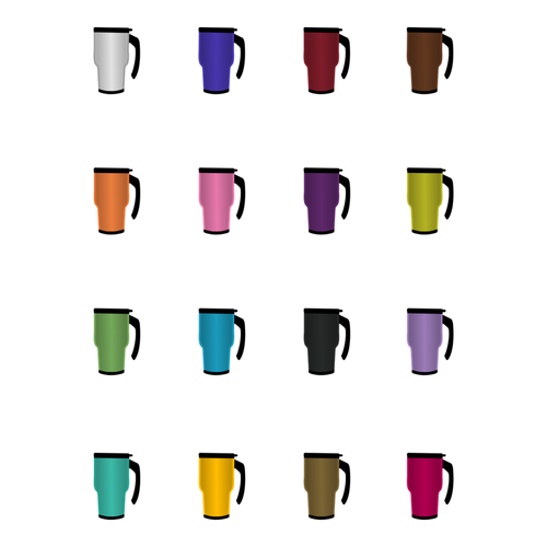 Coffee To Go Set 2 Stickers