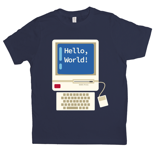 Hello World Junior Programmer Kids T-Shirt