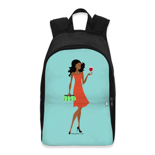 Chic Wine Backpack Version 1