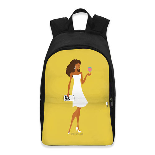 Chic Wine Backpack Version 2