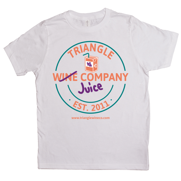 Triangle Wine, er, Juice Co.T-Shirt (Youth Sizes)