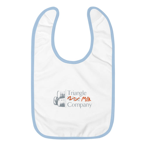 Triangle Wine, er, Milk Co.  Baby Bib
