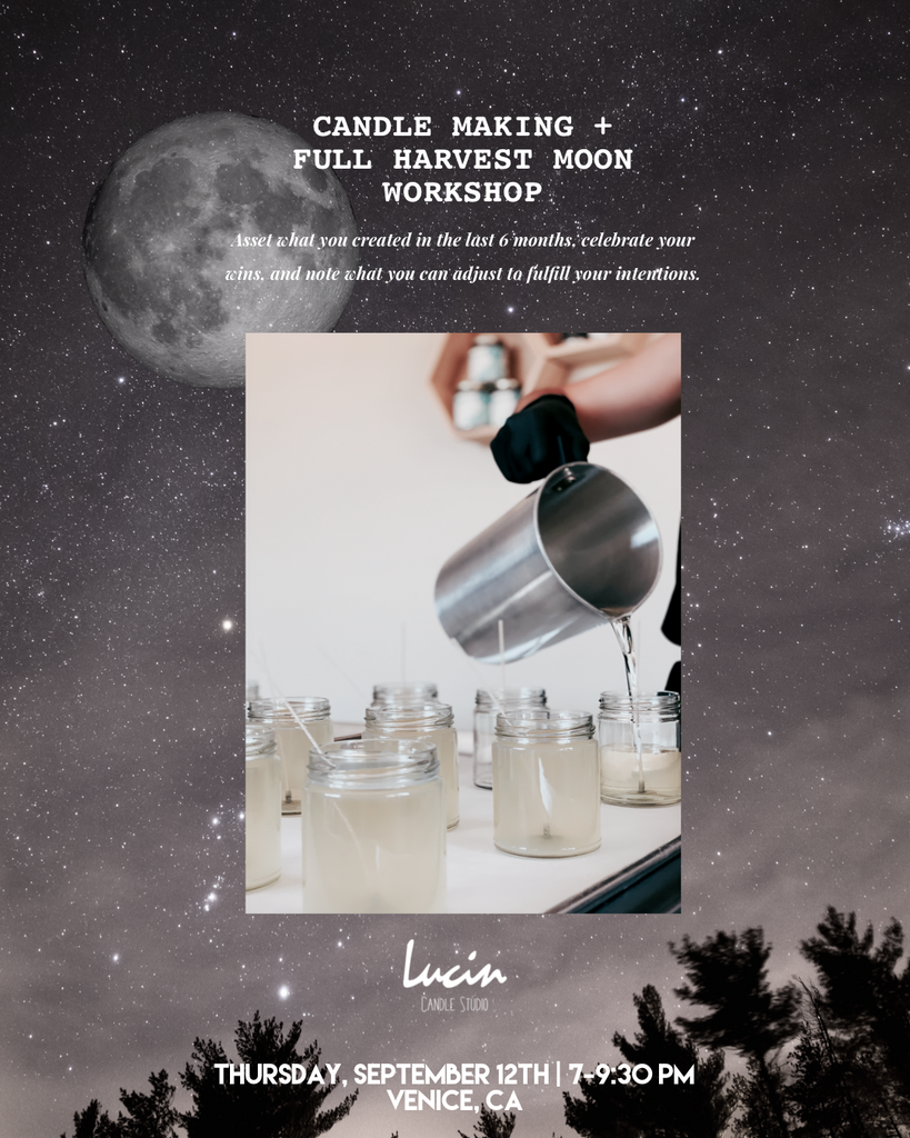 Candle Marking + Full Harvest Moon Workshop