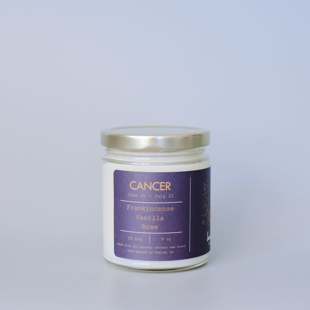 Cancer, Zodiac Candle