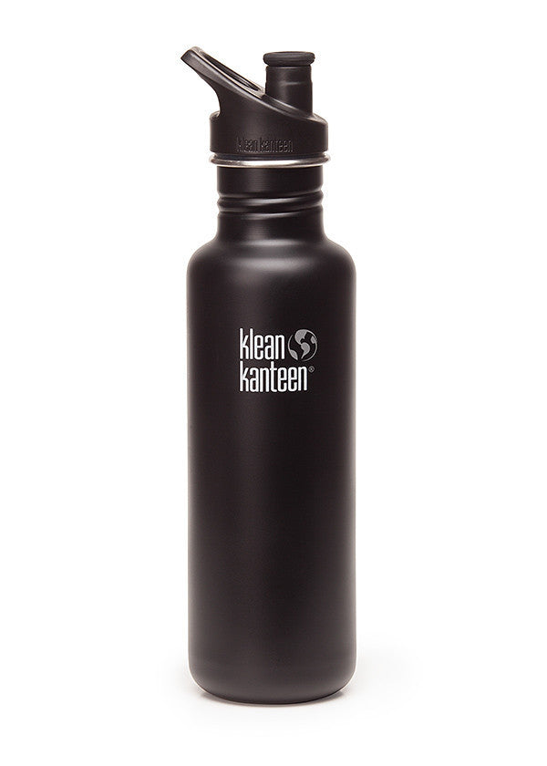 Klean Kanteen Original 800ml shale black (matt)