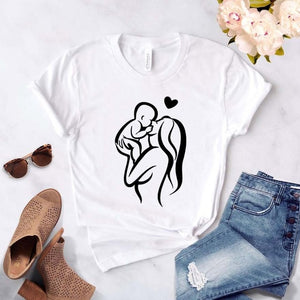 Baby On Board Mom T-Shirt 👩