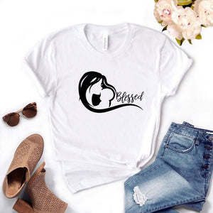 Blessed mom baby T-Shirt 👩