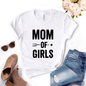 MOM OF GIRLS T-SHIRT 👩