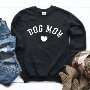 dog mom heart  Sweatshirts