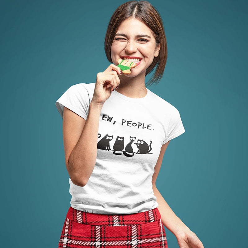 Ew People Cat mom Af T-Shirt 🐱🐈👩