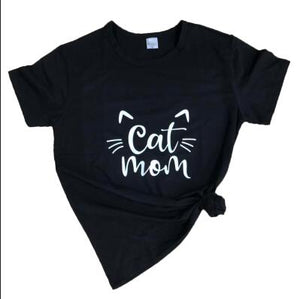 Cat Mom T-Shirt 🐱🐈👩