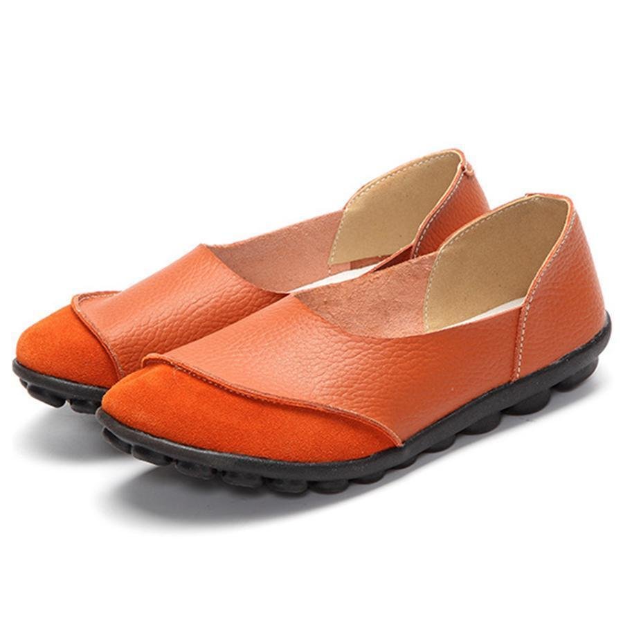 Plain  Flat  Round Toe  Casual Flat & Loafers
