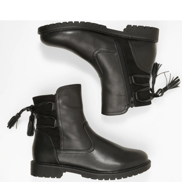 Fashion & Comfortable Low Heel Boots
