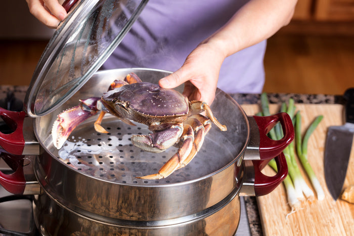 Dungeness Crab for Thanksgiving Dinner