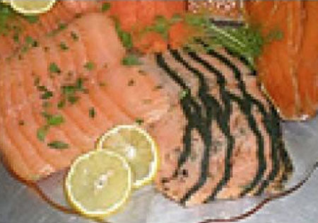 Smoked Salmon Sampler