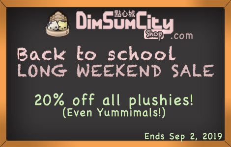 Back To School Plushie Sale!