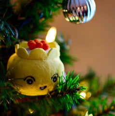 DSC Siu Mai Mini Plushie Christmas Ornament