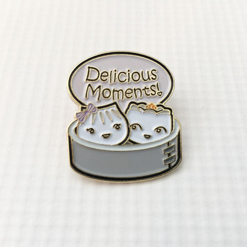 Delicious Moment Pin