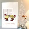 Siu Mai and Dan Tat Buddies Card