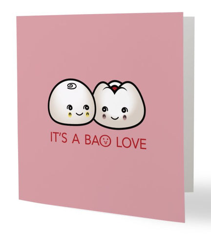 It's A Bao Love Card