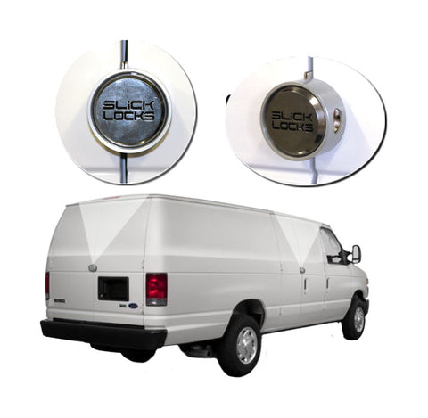 SLICK LOCKS KIT FORD ECONOLINE 150 250 350 SIDE AND REAR HINGED DOORS NEW FD-FVK-1-TK