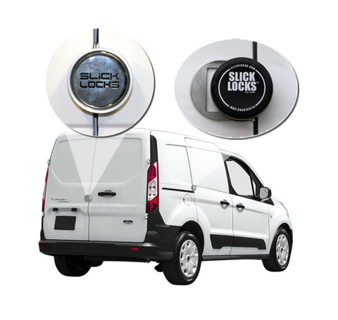 SLICK LOCKS KIT TRANSIT CONNECT (2) SIDE SLIDING AND REAR HINGED DOORS NEW FD-TC-FVK-2-TK