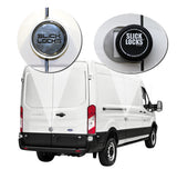SLICK LOCKS KIT FORD TRANSIT 150 250 350 SLIDING SIDE DOOR AND REAR HINGED DOORS NEW FD-TR-FVK-SLIDE-TK
