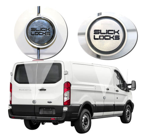 SLICK LOCKS KIT FORD TRANSIT 150 250 350 SIDE AND REAR HINGED DOORS NEW FD-TR-HD-FVK-1-TK