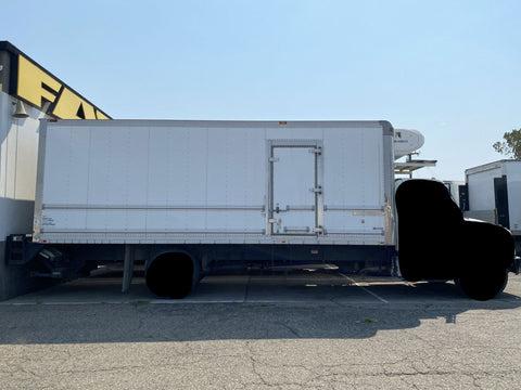 24 Foot Refrigerated Truck Body Thermo King Whisper Standby Refrigeration Unit