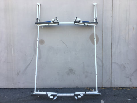 FORD GMC CHEVROLET CARGO VAN LADDER RACK LOCKING AND PULL DOWN
