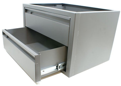 Drawer Unit - Steel 2 Drawer