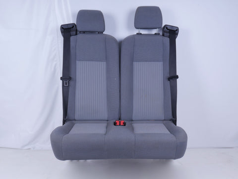 FORD TRANSIT 2 PERSON BENCH SEAT GREY CLOTH