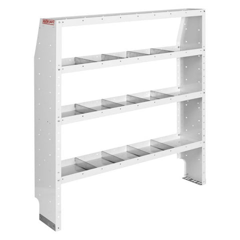 "WEATHER GUARD 4 SHELF UNIT 52""W x 60""H x 13.5""D (NEW)"