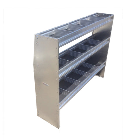 "ALUMINUM SHELVING UNIT 3 LEVELS 60""W x 48""H x 14""D (NEW)"