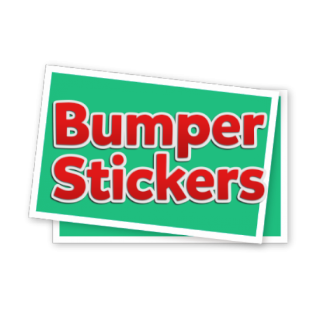 Bumper Stickers & Decals