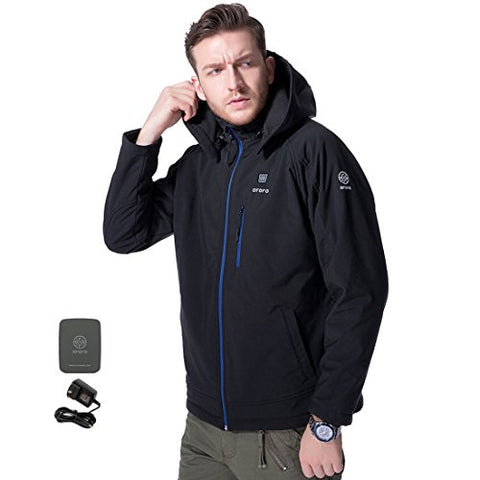 ororo Men's Soft Shell Heated Jacket