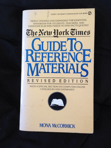 Guide to Reference Materials
