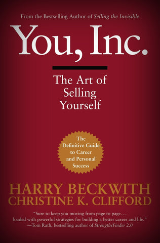 You, Inc. by Harry Beckwith and Christine Beckwith (2007, Hardcover)