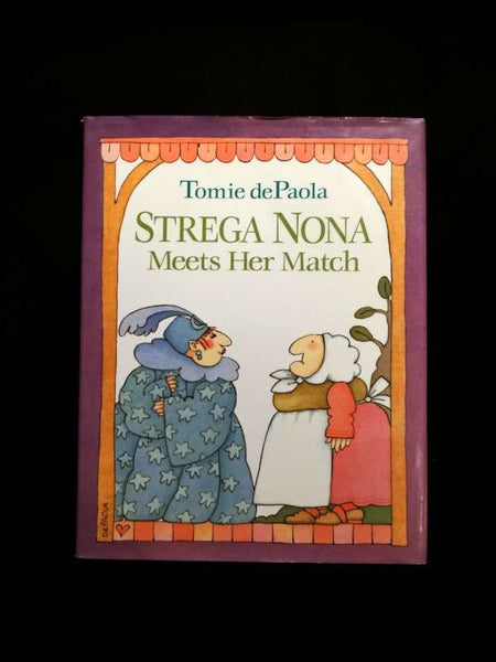 Strega Nona Meets Her Match by Tomie dePaola (Hardcover/Dust Jacket 1993)