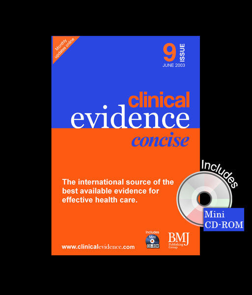 Clinical Evidence Concise Issue 9 June 2003