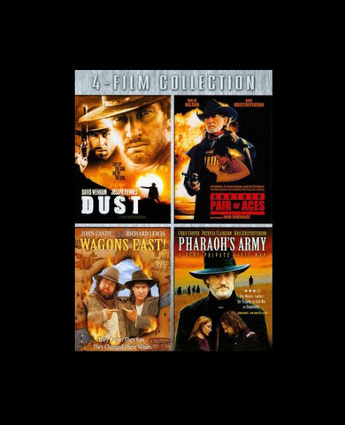 (3-DVD) Dust/Another Pair of Aces/Wagons East/Pharaoh's Army