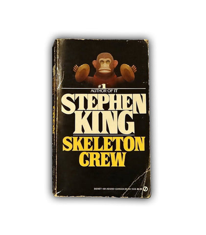 "1986 Signet Paperback Book ""The Skeleton Crew"" by Stephen King Tenth Printing"